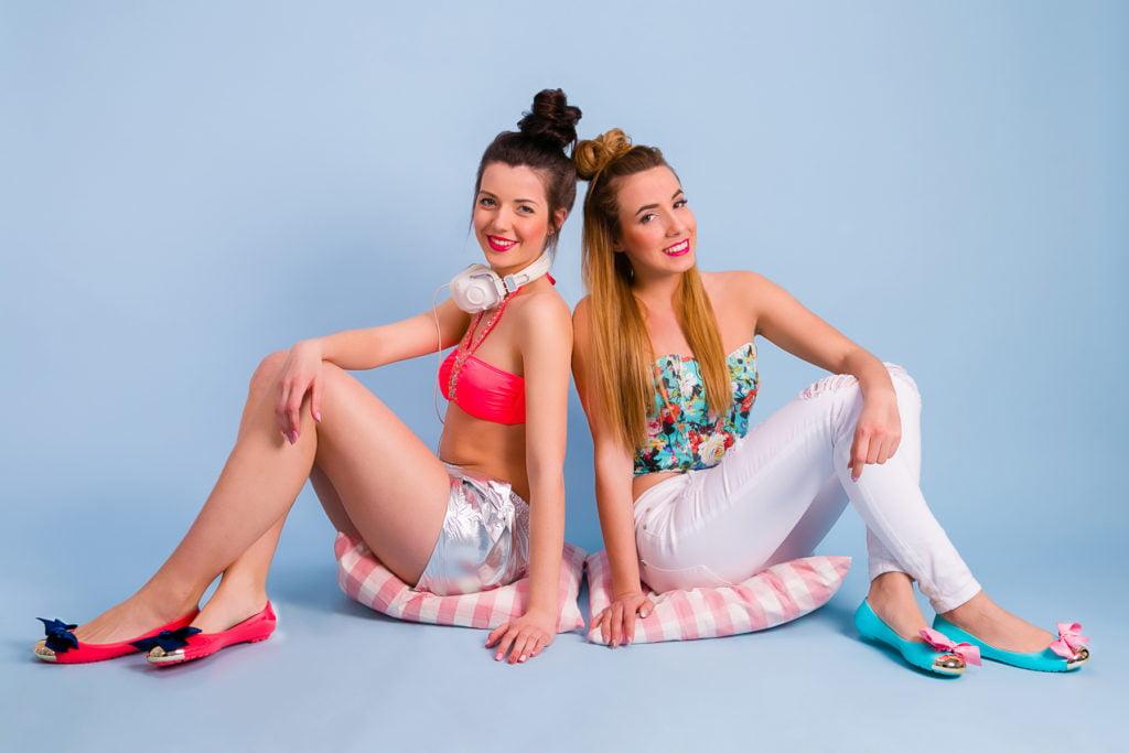 Obuwie - sesja reklamowa z modelkami