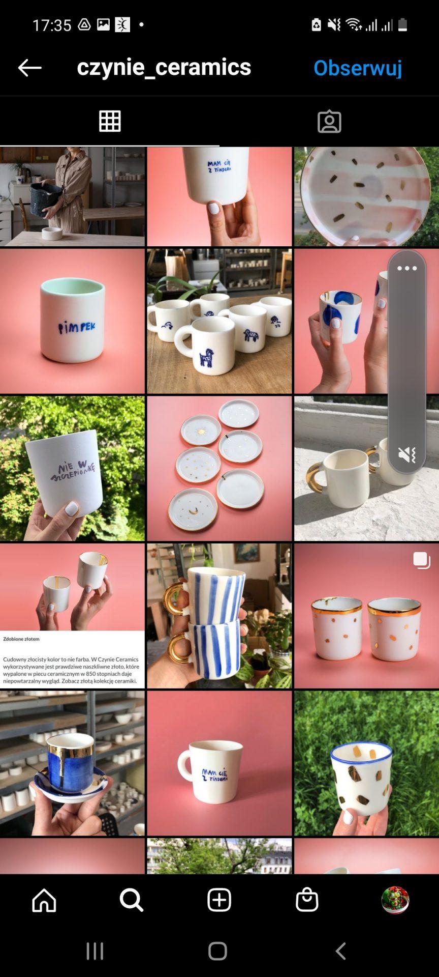 Ciekawe rozwiązanie wstawiania zdjęcia na Instagramie.